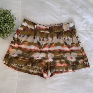 Nordstrom high waisted silky pattern shorts
